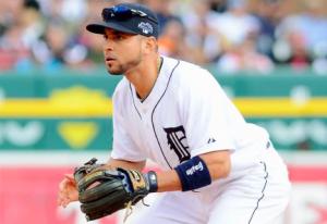 Detroit Tigers Omar Infante
