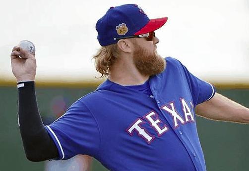 Texas Rangers Andrew Cashner