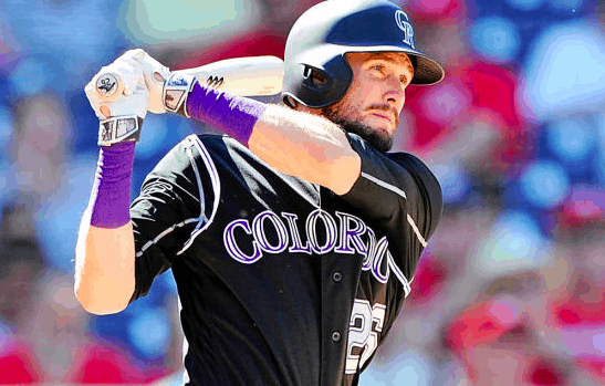 Colorado Rockies David Dahl