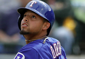 Texas Rangers Rougned Odor