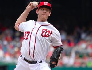 Washington Nationals Stephen Strasburg