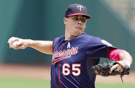 Minnesota Twins Trevor May