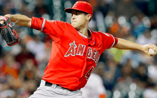 Los Angeles Angels Tyler Skaggs