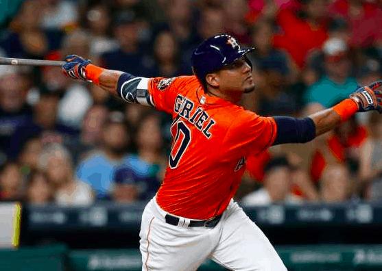 Houston Astros Yulieski Gurriel