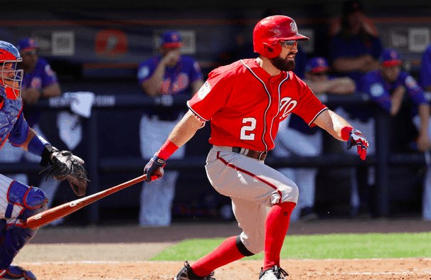 Washington Nationals Adam Eaton
