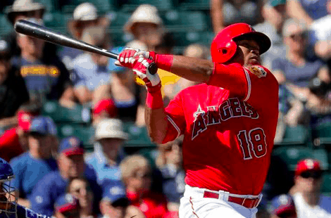 Los Angeles Angels Luis Valbuena